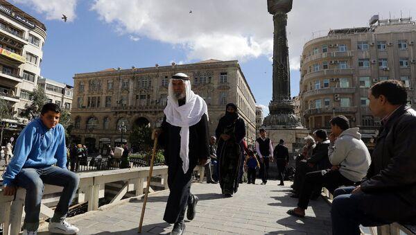 Şam'daki Marjeh Meydanı - Sputnik Türkiye