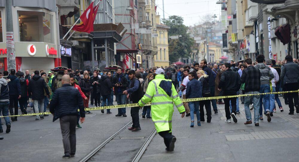 İstiklal Caddesi'nde canlı bomba saldırısı