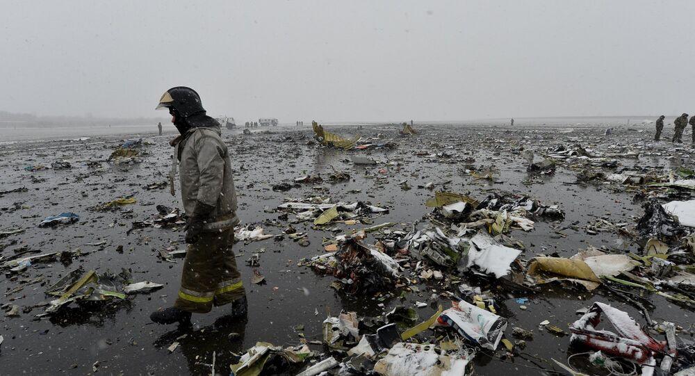 Rusya'da düşen yolcu uçağı