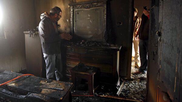 Ali Devabişe'nin öldüğü saldırının tek görgü tanıdığının evi kundaklandı - Sputnik Türkiye