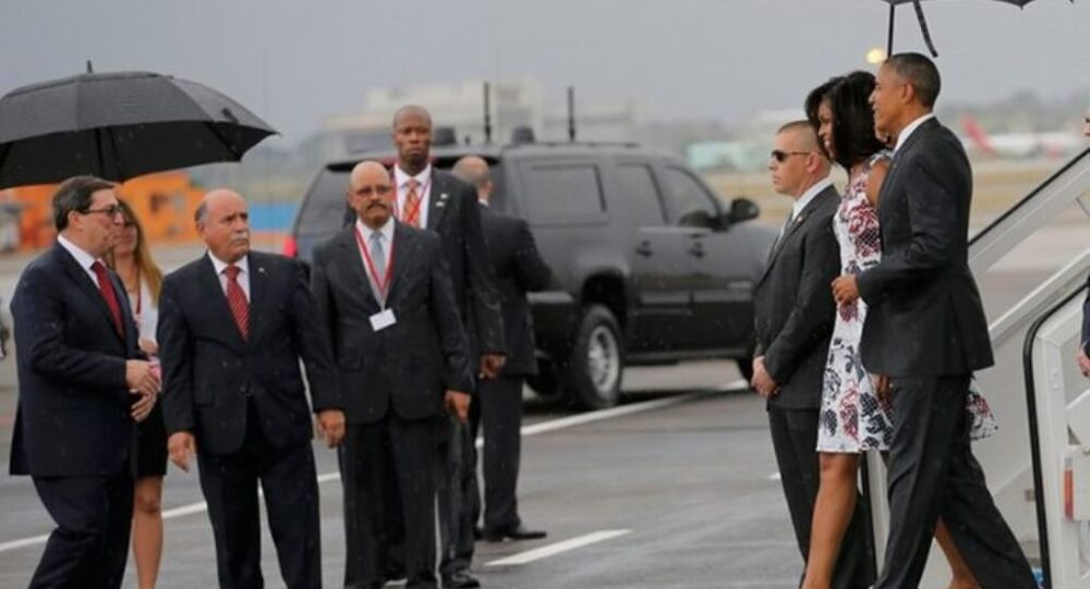 ABD Başkanı Barack Obama Küba'da