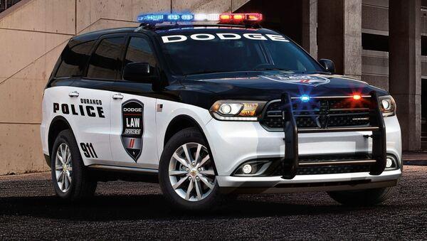 ABD ve Kanada'da polis görevlileri tarafından kullanılan  DodgeDurango SSV. - Sputnik Türkiye
