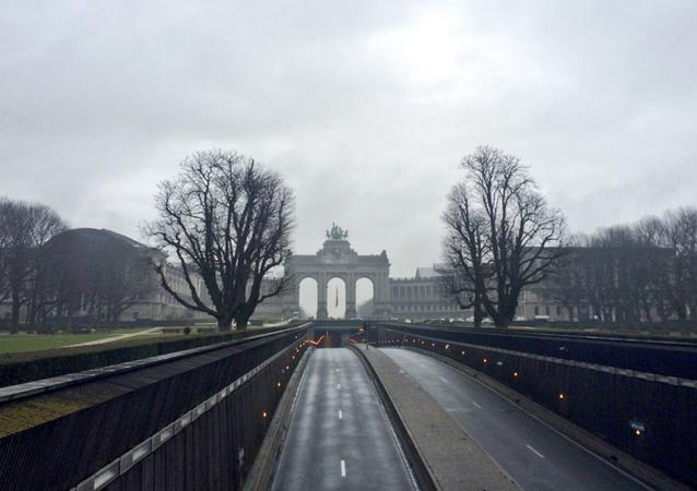 Brüksel hayalet şehre döndü