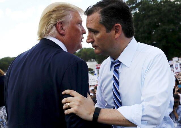 Donald Trump- Ted Cruz