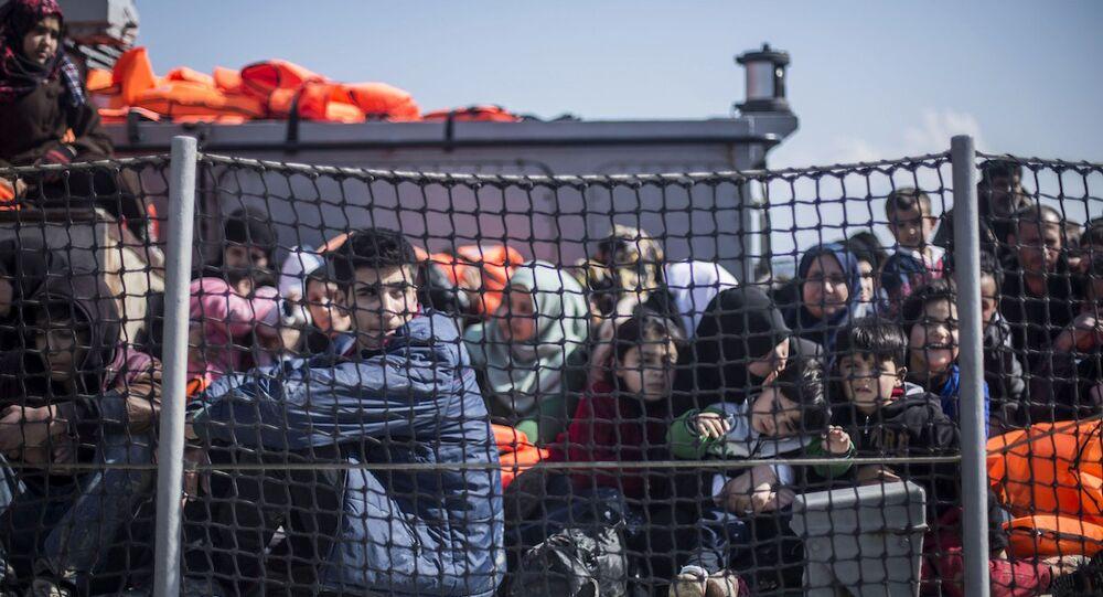 Midilli'deki sığınmacılar
