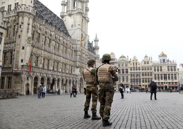 Belçika askerleri