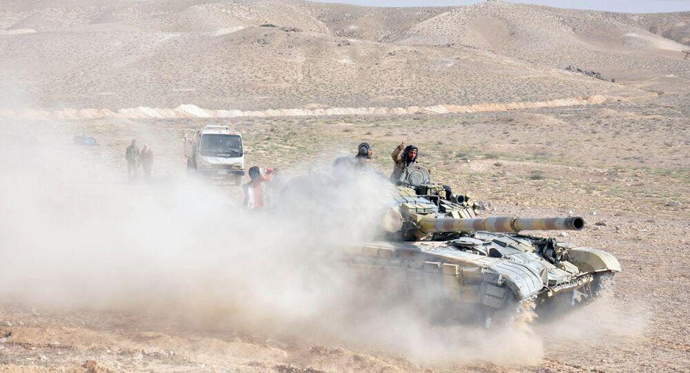 Palmira operasyonu / Suriye askeri