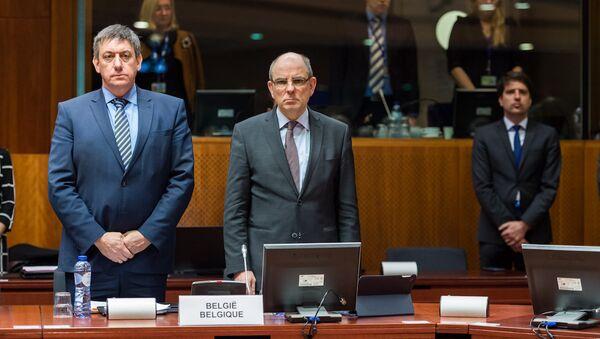 Belçika İçişleri Bakanı Jan Jambon ve Adalet Bakanı Koen Geens - Sputnik Türkiye