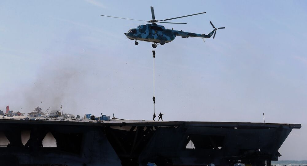 İran'da ambulans helikopter düştü (Arşiv)