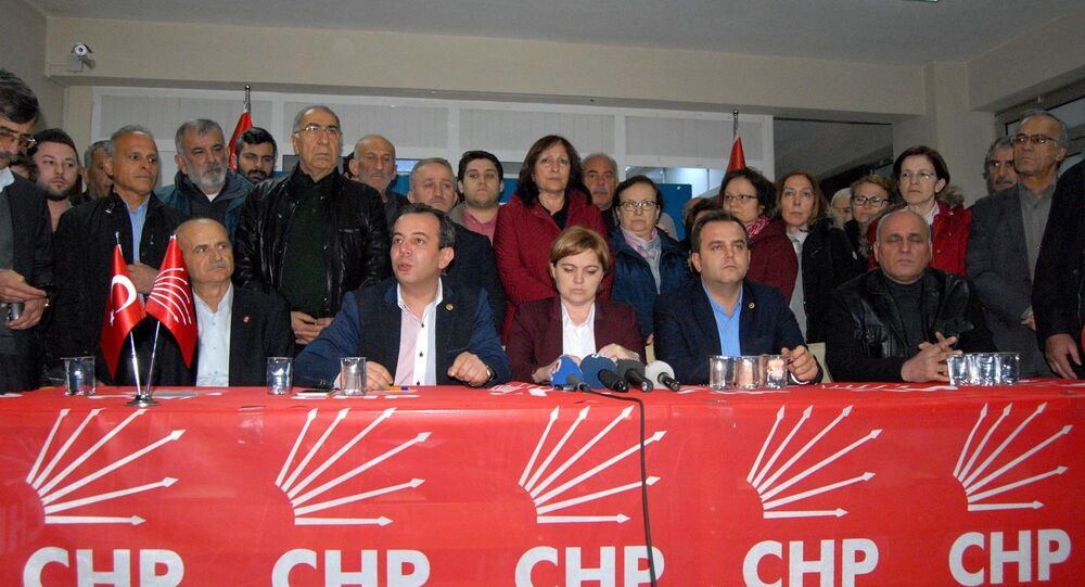 CHP Düzce İl Başkanı Zekeriya Tozan'ın saldırıya uğradı