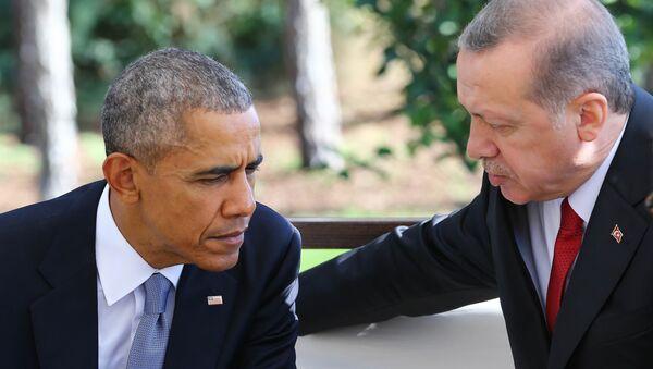 Recep Tayyip Erdoğan - Barack Obama / G20 Zirvesi - Antalya - Sputnik Türkiye
