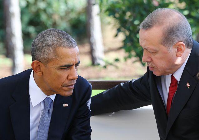 Recep Tayyip Erdoğan - Barack Obama / G20 Zirvesi - Antalya
