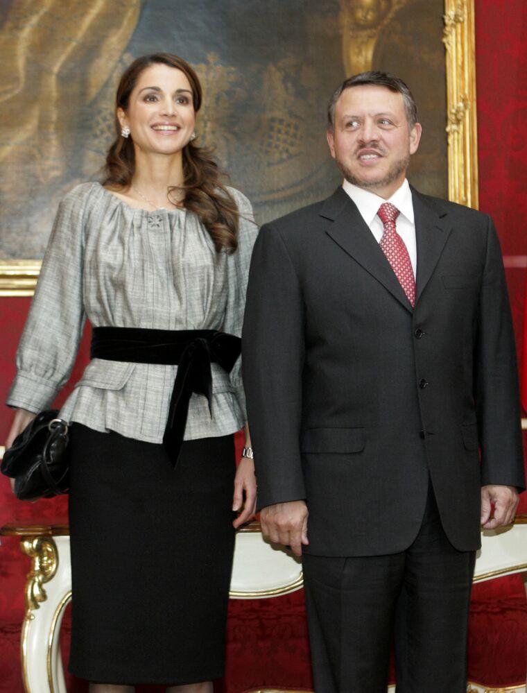 Ürdün Kralı İkinci Abdullah ve Ürdün Kraliçesi Rania el Abdullah