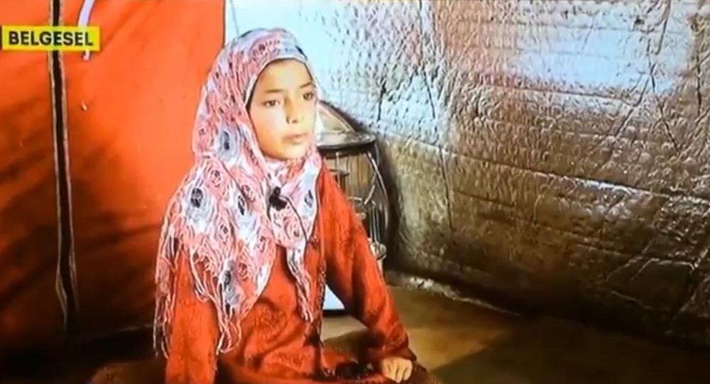 TRT ekranında Suriyeli çocuk: Kendimi patlatırdım!