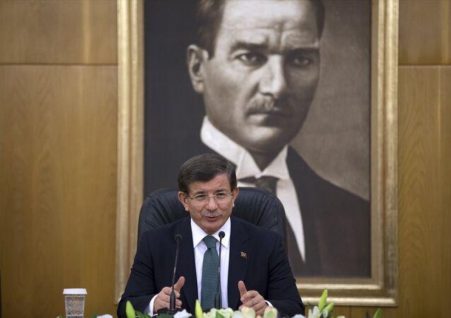 Türkiye Başbakanı Ahmet Davutoğlu