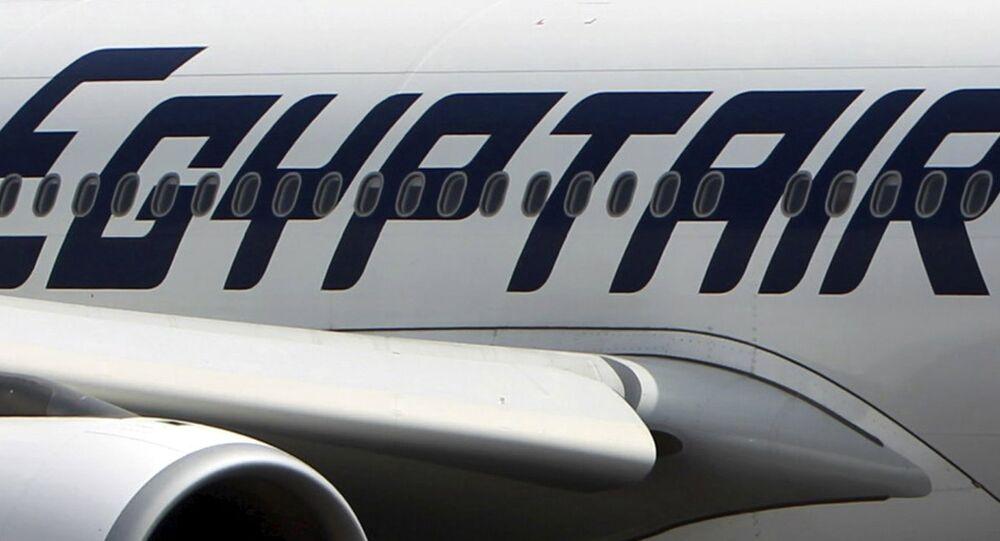 Mısır Havayolları'na ait bir uçak