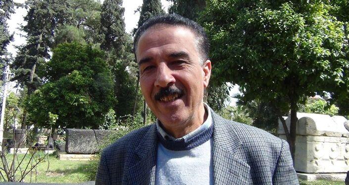 Palmira Müzesi Müdürü Halid Hariri