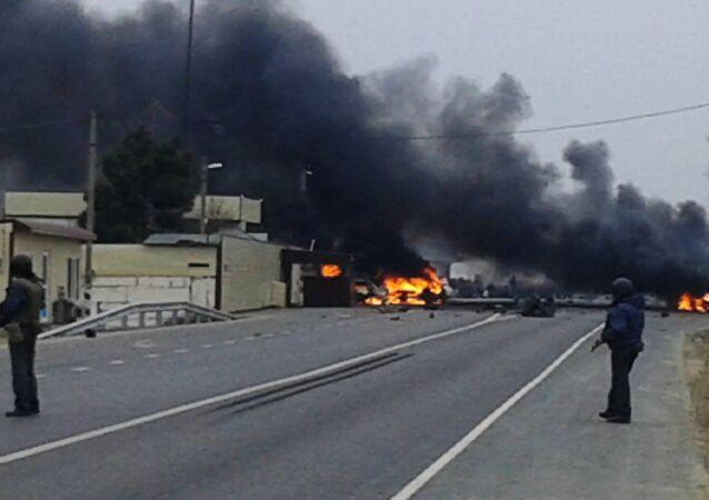 Dağıstan'da askeri konvoya saldırı