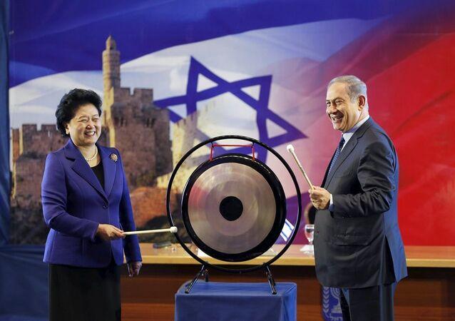 Benyamin Netanyahu - Liu Yandong