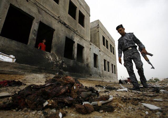 Bağdat'ın güneyindeki İskenderiye kentinde meydana gelen intihar saldırısını IŞİD üstlendi
