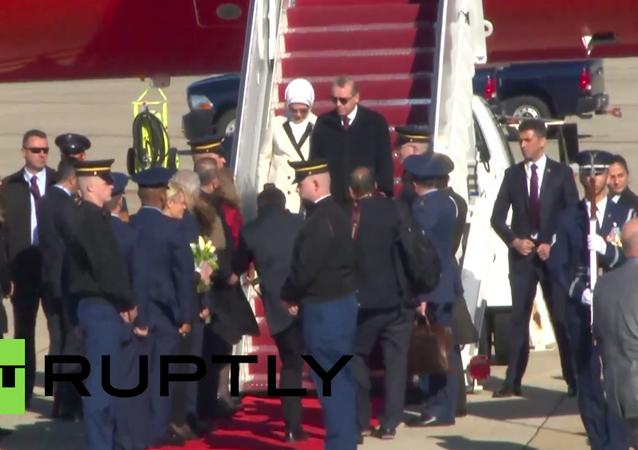 Cumhurbaşkanı Erdoğan, Nükleer Güvenlik Zirvesi'ne katılmak için Washington'a gitti