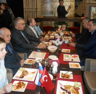 Moskova'da Türk-Rus Dostluk Kahvaltısı yapıldı