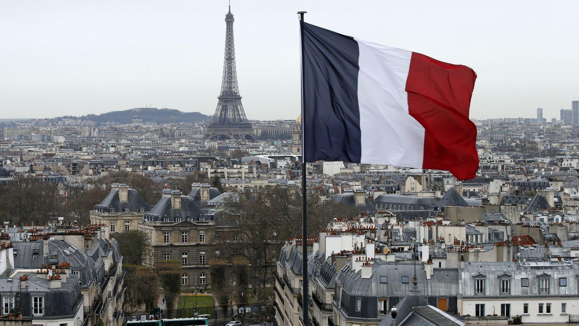 Fransa bayrağı - Paris - Sputnik Türkiye, 1920, 31.07.2021