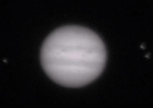 Jüpiter'e bir cisim çarptı