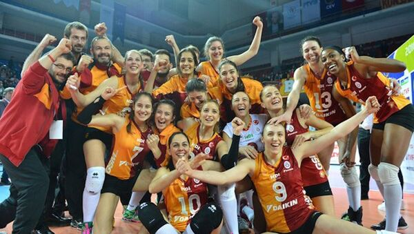Galatasaray Daikin - Sputnik Türkiye