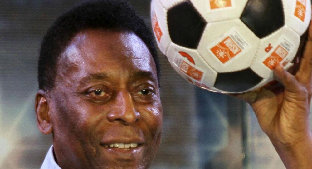 Brazilyalı futbolcu Pele