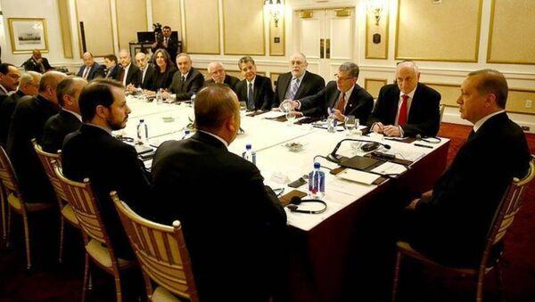 Erdoğan, ABD'de Musevi kuruluşların temsilcilerini kabul etti. - Sputnik Türkiye