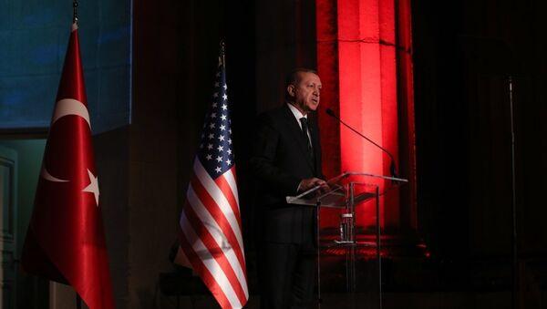 Cumhurbaşkanı Recep Tayyip Erdoğan ABD'de - Sputnik Türkiye