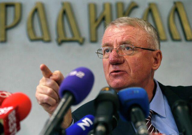 ırbistan'ın eski Başbakan Yardımcısı Vojislav Seselj