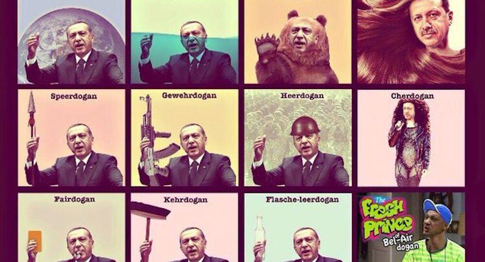 Almanya'da 'Erdoğan mizahı' devam ediyor