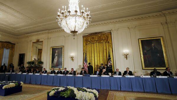 Beyaz Saray- ABD Başkanı Barack Obama - Sputnik Türkiye