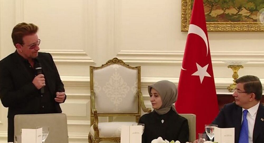 Bono - Ahmet Davutoğlu