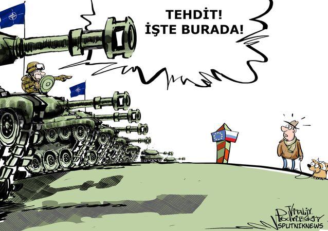 ABD  Avrupa'ya 3 tank tugayı gönderecek