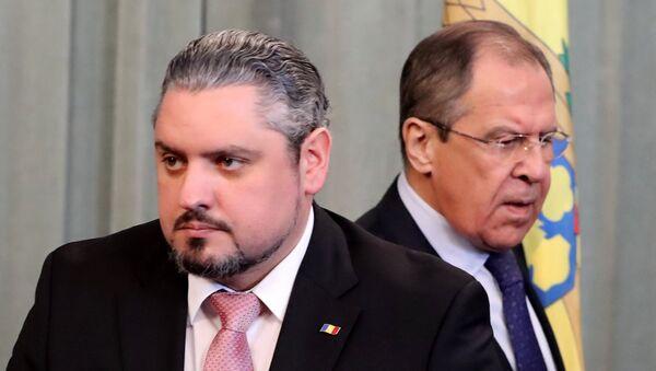 Moldova Dışişleri Bakanı Andrey Galbur - Rusya Dışişleri Bakanı Sergey Lavrov - Sputnik Türkiye