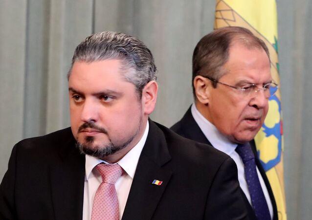 Moldova Dışişleri Bakanı Andrey Galbur - Rusya Dışişleri Bakanı Sergey Lavrov