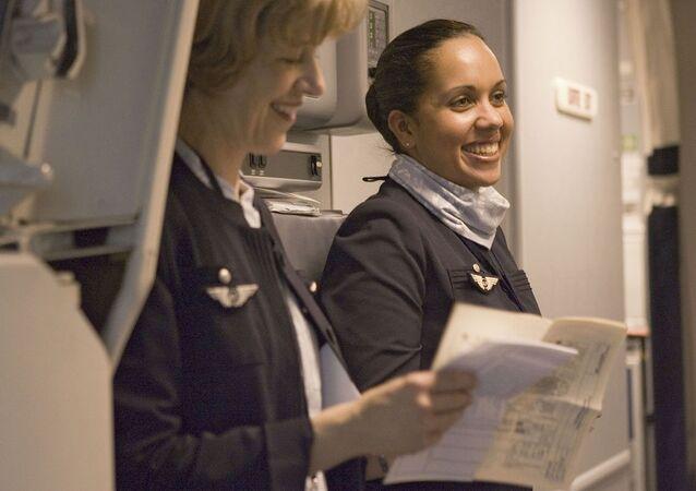 Air France hostesleri