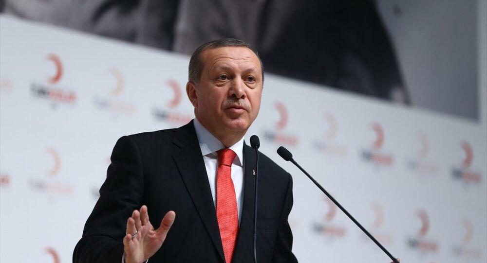 Cumhurbaşkanı Recep Tayyip Erdoğan, Türk Kızılayı'nın ATO Congresium'da düzenlenen Olağan Genel Kurulu'na katıldı.