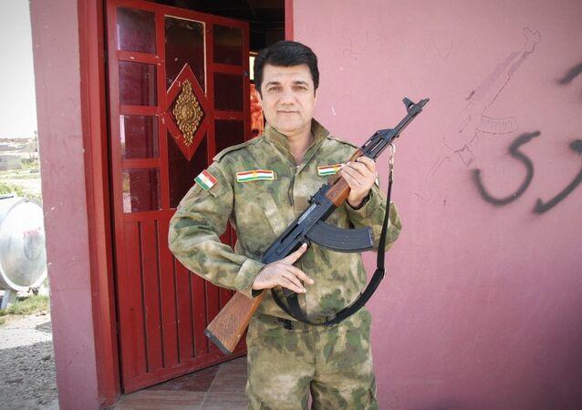 IŞİD'e karşı Peşmerge saflarında savaşan Türkiye vatandaşı Emin Batmani