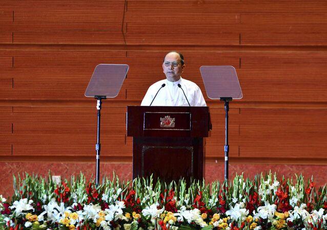 Myanmar'ın eski Devlet Başkanı Thein Sein