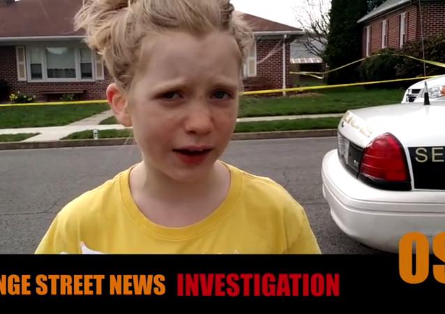 Pennsylvania'da yaşayan 9 yaşındaki gazeteci Hilde Kate Lysiak