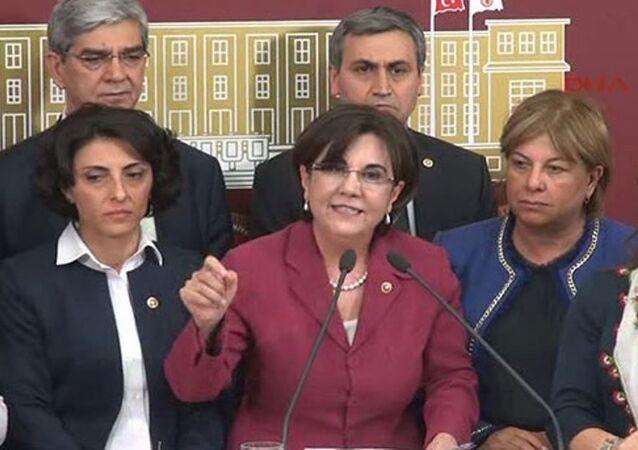 CHP Milletvekili Gaye Usluer