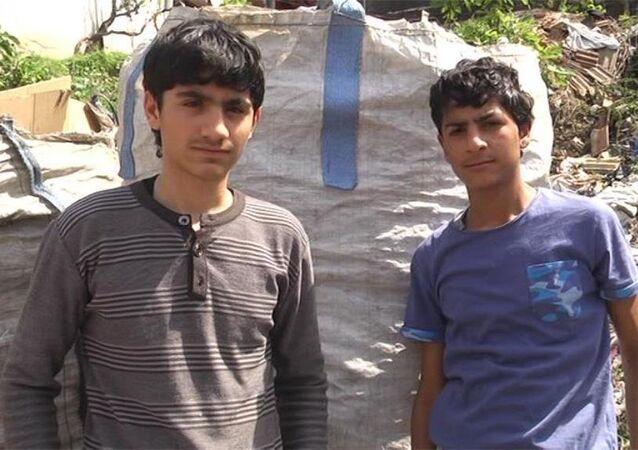 Hatay'da pide çaldıkları için dövülen Suriyeli çocuklar