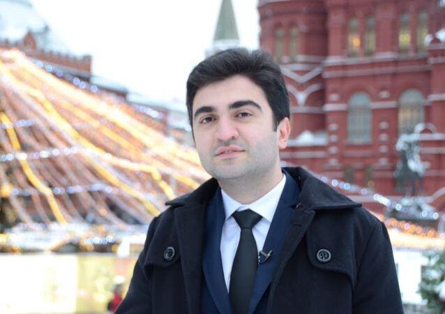 Azerbaycan-Slav Gençleri Rusya Temsilciliği İcra Başkanı Hazar Karayev