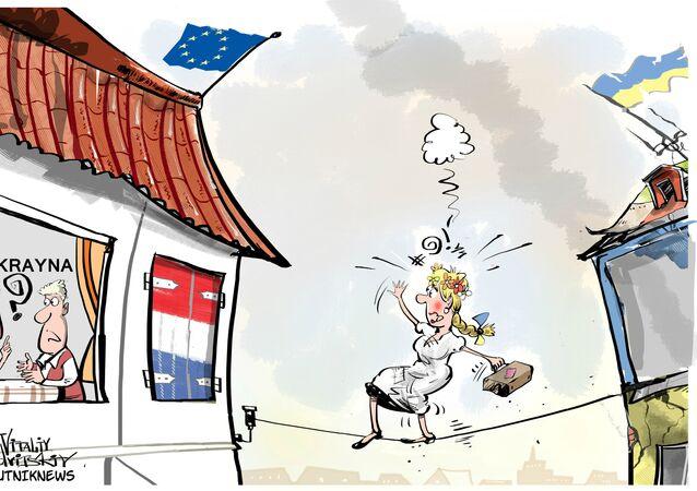Hollandalıların üçte biri Ukrayna'yı AB'de görmek istemiyor