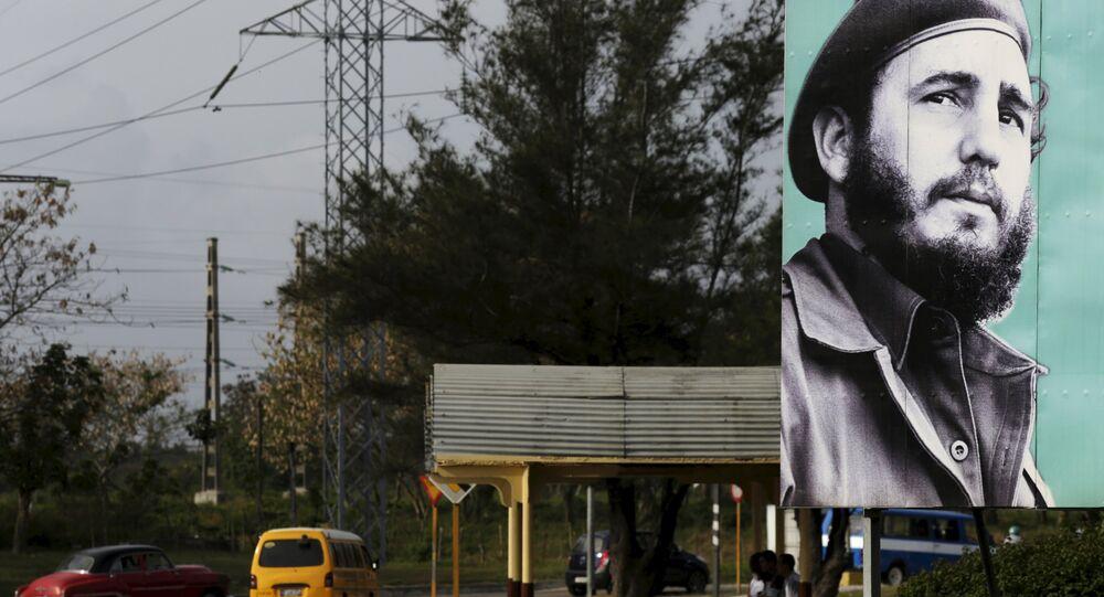 Küba Devrimi'nin lideri Fidel Castro
