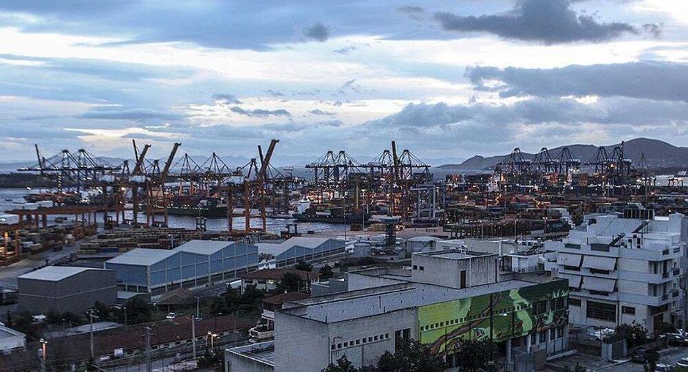 Yunanistan'ın en büyük limanı  Pire